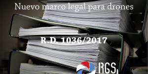 Nuevo marco legal RGSDron