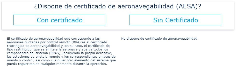 ENAIRE Drones Aeronavegabilidad