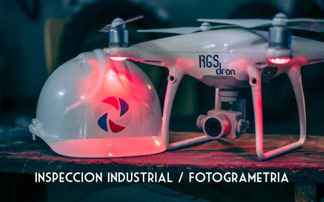 Inspeccion industrial Fotogrametría RGSDron